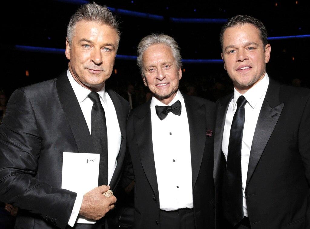 Alec Baldwin, Michael Douglas, Matt Damon, Emmy Awards, 2013, Audience