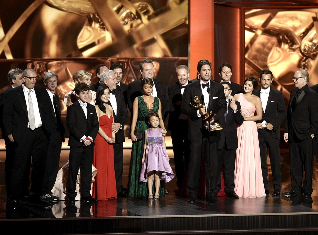 Steven Levitan, Modern Family Cast, Emmy Awards Show