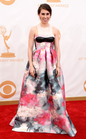 Zosia Mamet, Emmy Awards 2013