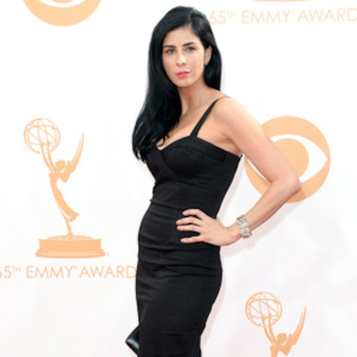 Emmys Star Style Sarah Silverman Wows In 60 Little Black Dress E