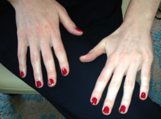 Michelle Dockery, Emmy Awards 2013, Manicure