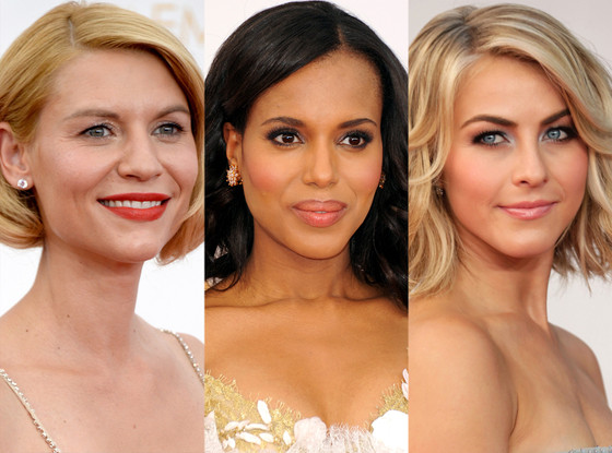 Kerry Washington, Julianne Hough and More Stars With the Best Beauty Looks at the 2013 Emmy Awards