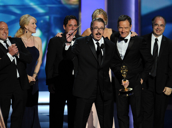 Breaking Bad Cast, Emmy Awards Show, Bryan Cranston, Aaron Paul, Jonathan Banks, Anna Gunn