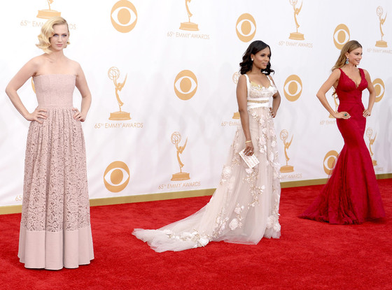 January Jones, Kerry Washington, Sofia Vergara, Emmy Awards