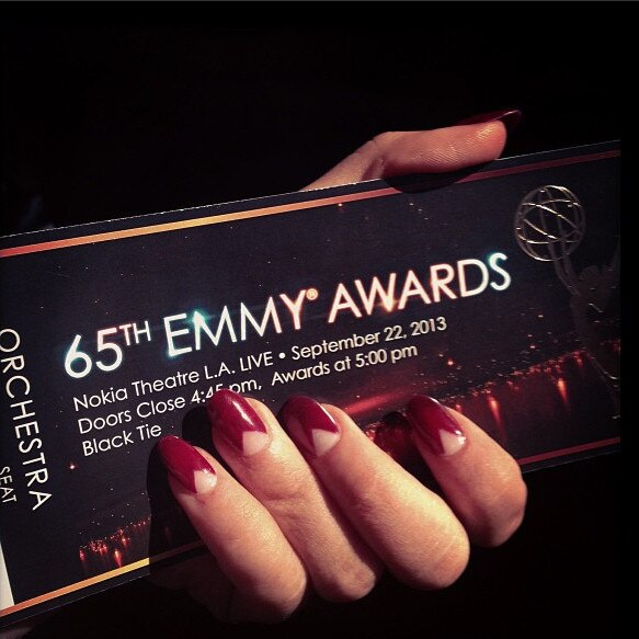 Sarah Hyland, Emmy Awards 2013, Instagram