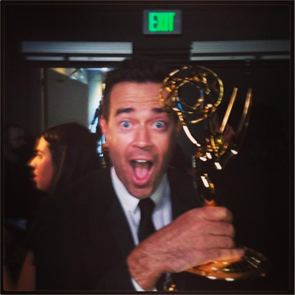 Carson Daly, Leslie Mann, Emmy Awards, Instagram