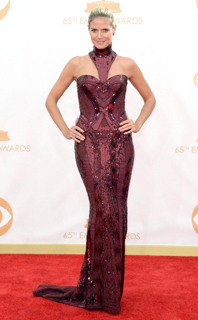 Heidi Klum, Emmy Awards, 2013