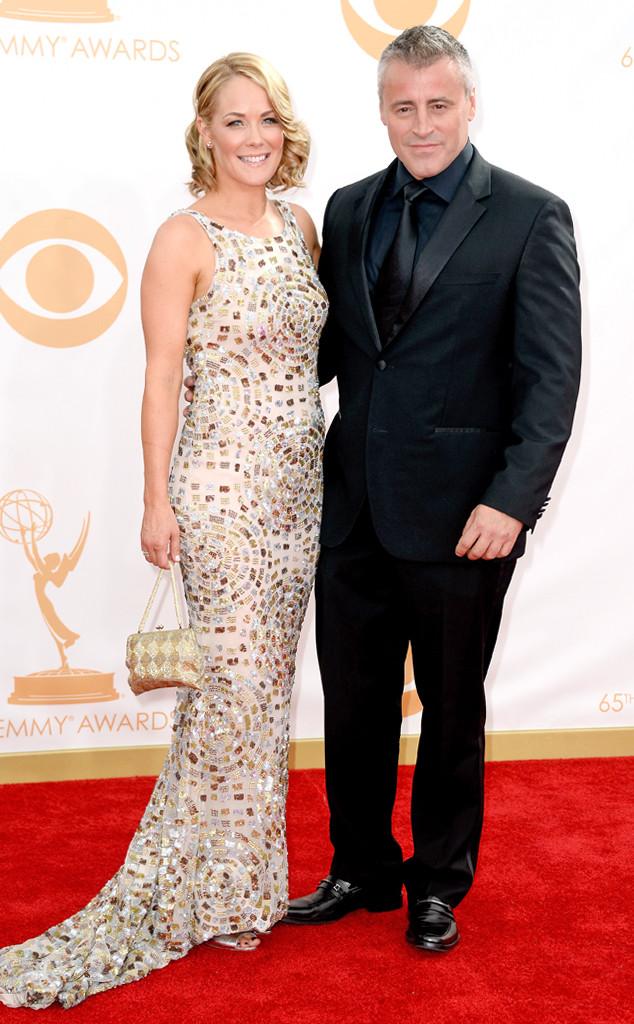 Matt LeBlanc, Andrea Anders, Emmy Awards, 2013