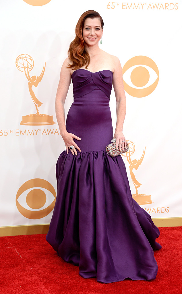Alyson Hannigan, Emmy Awards, 2013