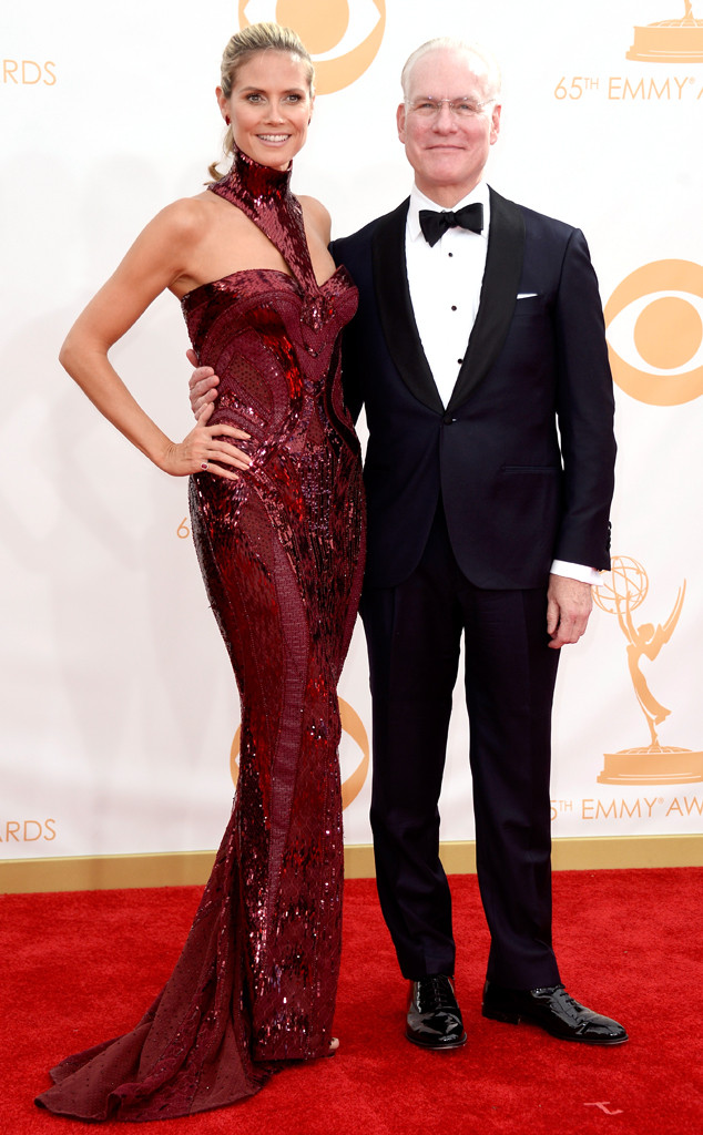 Heidi Klum; Tim Gunn, Emmy Awards, 2013