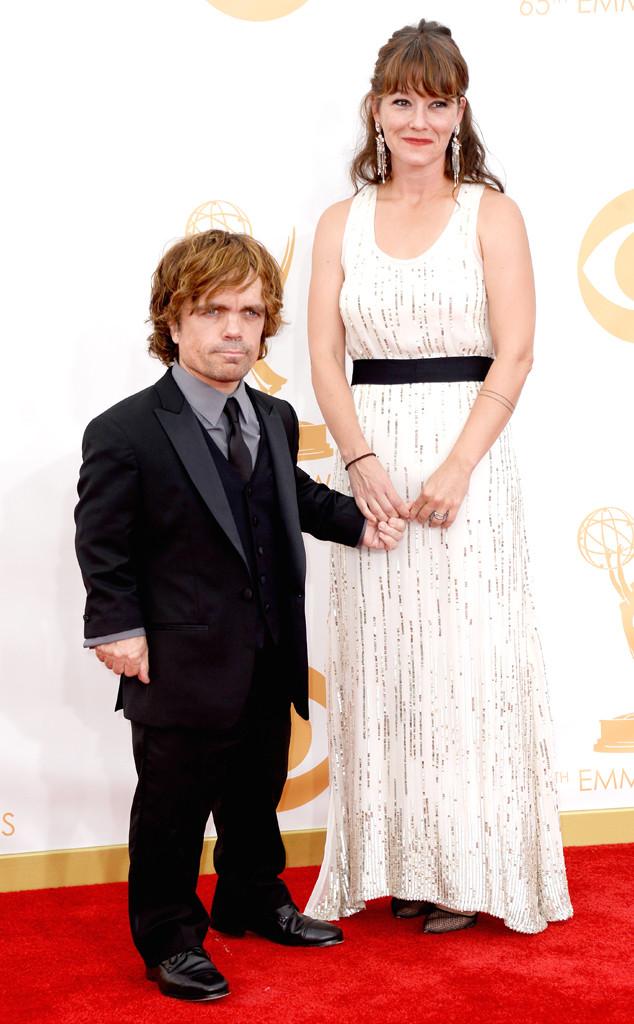 Peter Dinklage, Erica Schmidt, Emmy Awards, 2013