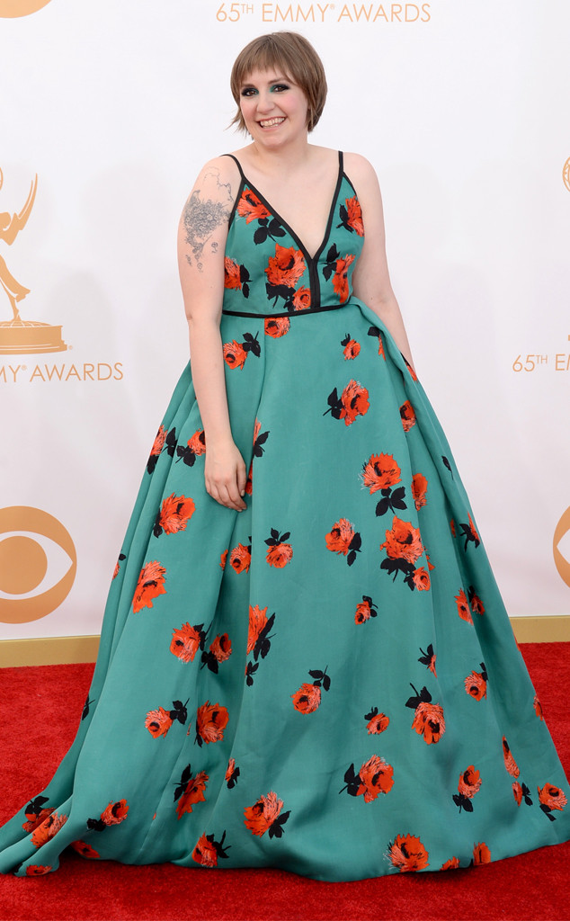 Lena Dunham, Emmy Awards, 2013