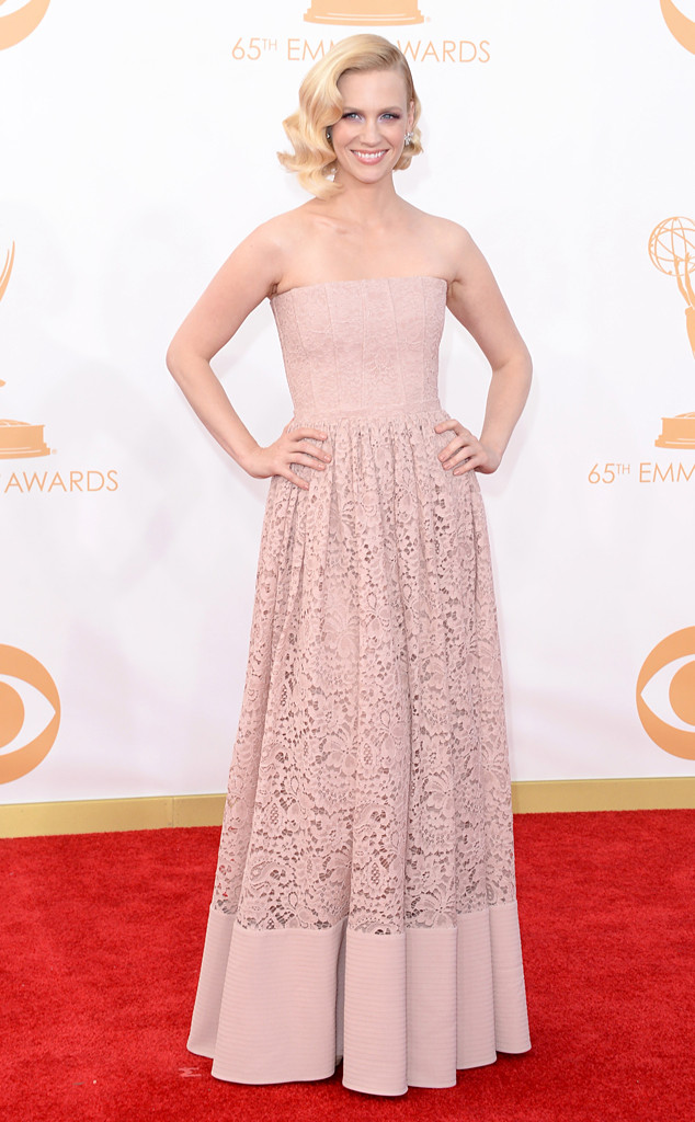 January Jones, Emmy Awards, 2013