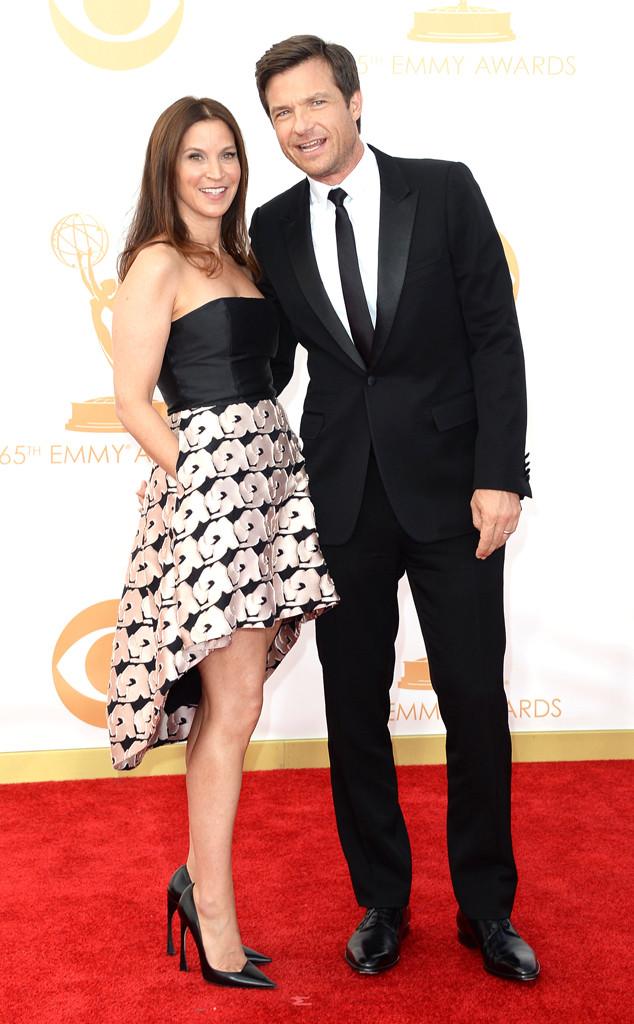 Jason Bateman, Amanda Anka, Emmy Awards, 2013