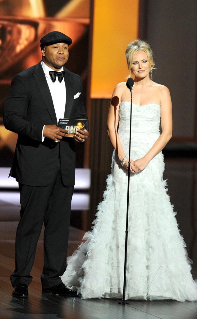 Emmy Awards Show, LL Cool J, Malin Akerman