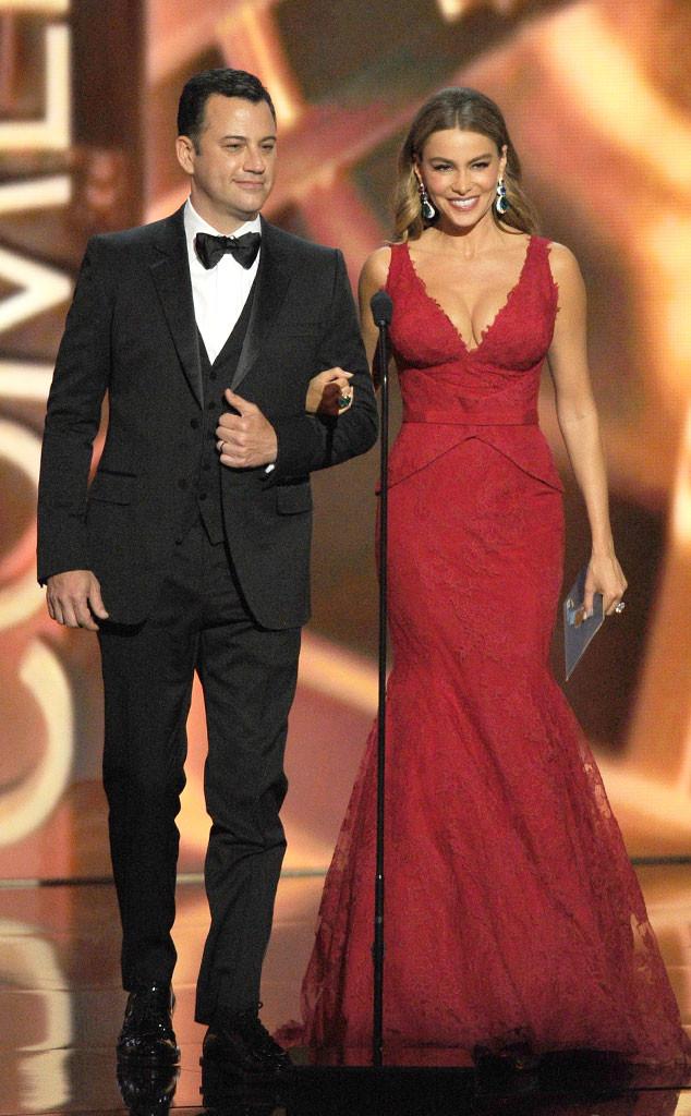 Emmy Awards Show, Jimmy Kimmel, Sofia Vergara