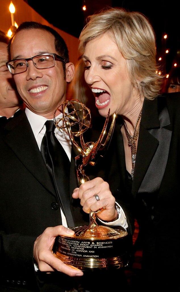 Animator Paul Wee, Jane Lynch