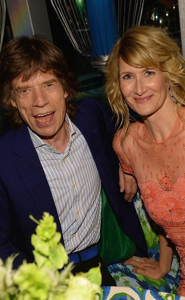 Mick Jagger, Laura Dern