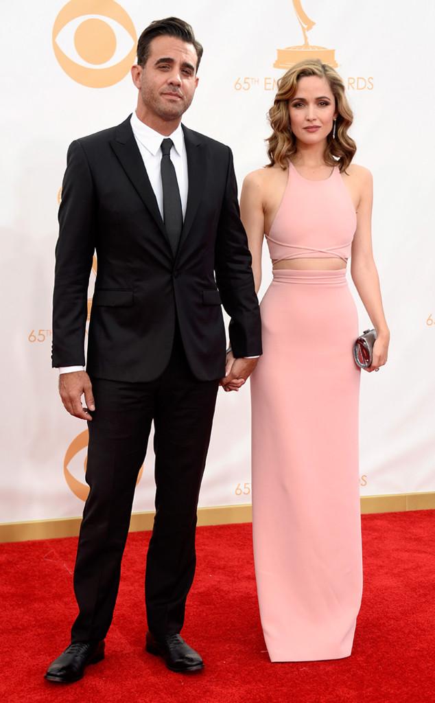 Bobby Cannavale,  Rose Byrne, Emmy Awards 2013