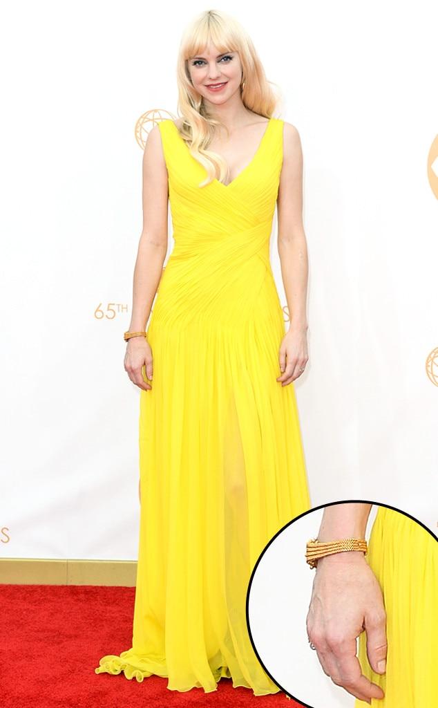 Anna Faris, Emmy Awards, 2013, Manicure