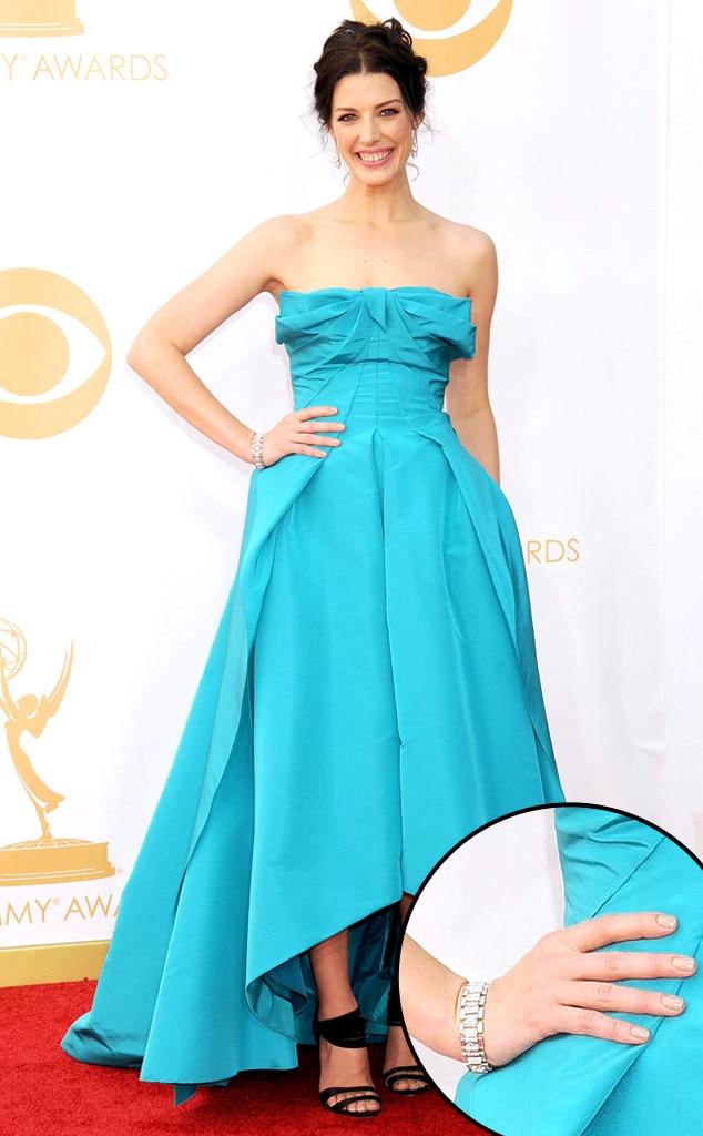 Jessica Pare, Emmy Awards, 2013, Manicure