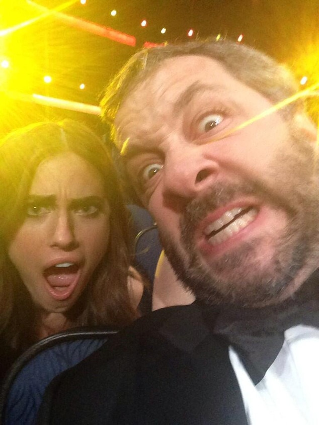 Judd Apatow, Allison Williams, Emmy Awards, Twit Pic