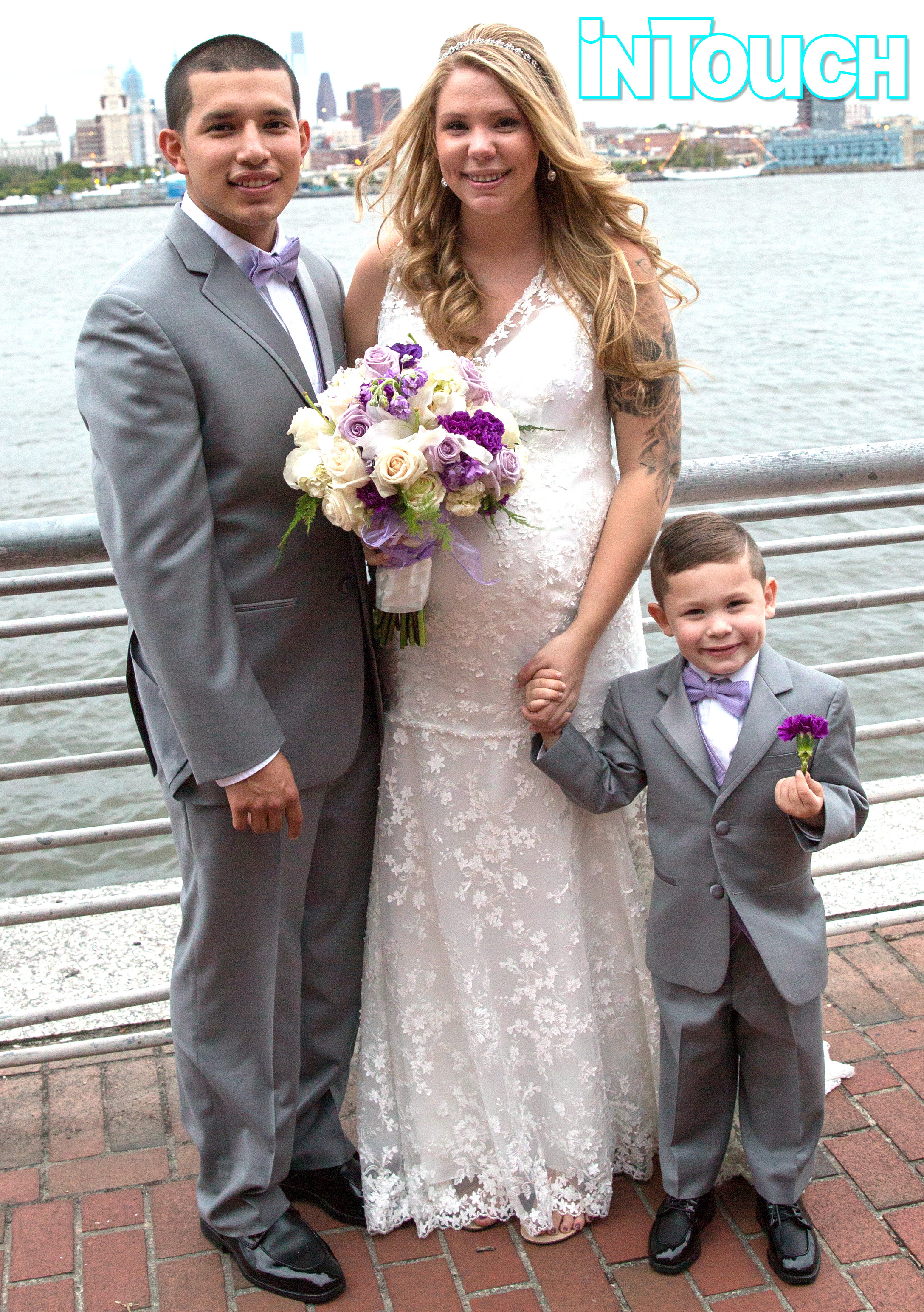 Teen Mom 2 s Kailyn Lowry Shows f Baby Bump in Her Wedding Dress