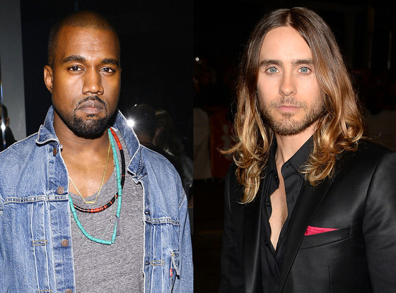Kanye West, Jared Leto