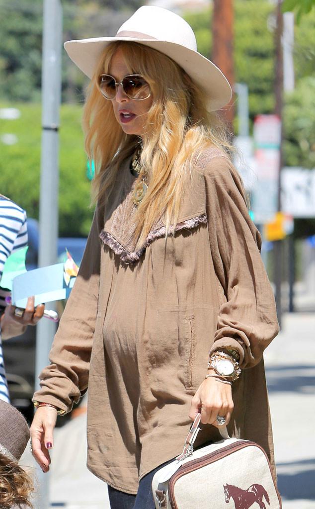 Rachel Zoe, Baby Bump