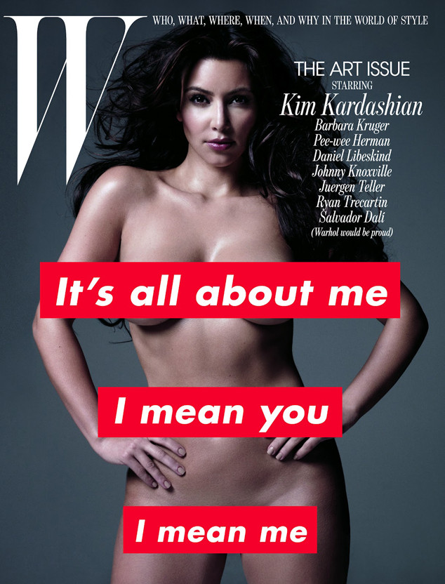 Kim Kardashian, W Magazine