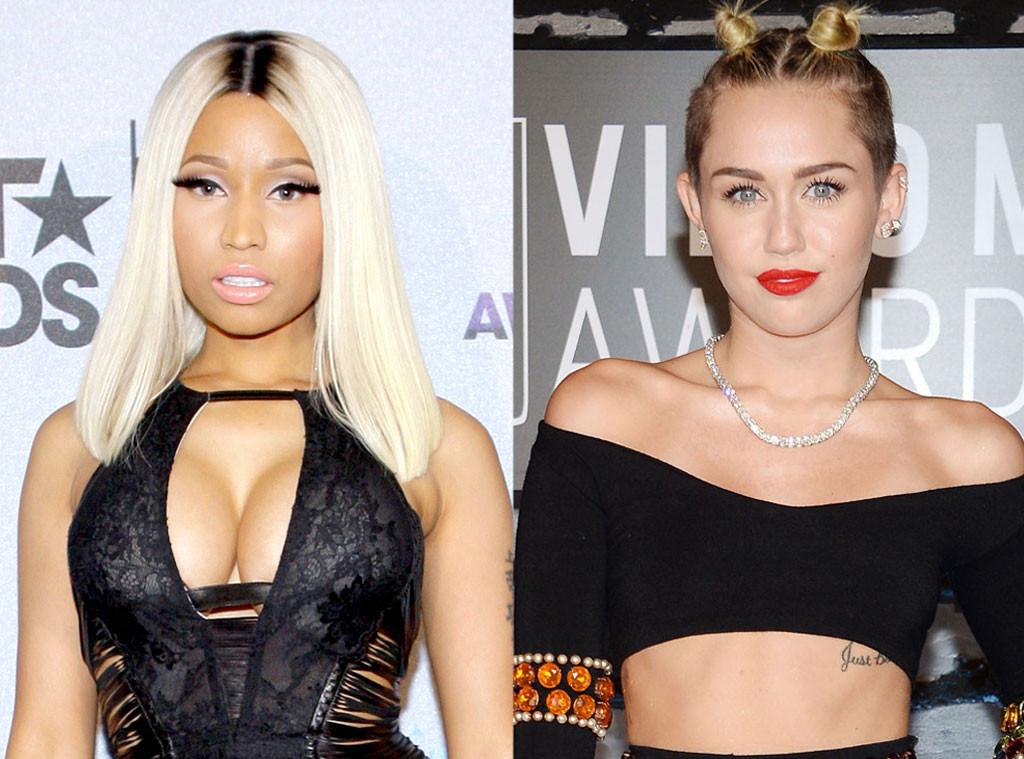 Miley Cyrus, Nicki Minaj