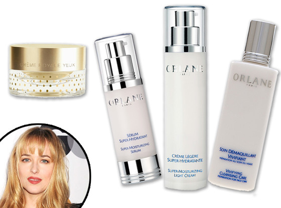 Dakota Johnson, Orlane Skincare Products