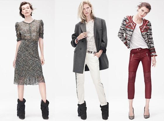 And All Items from The Collection of Isabel Marant for H & M, We Are Left with…