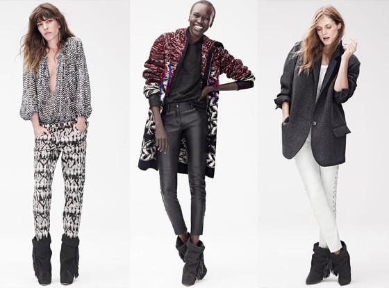 Isabel Marant x H&M Lookbook