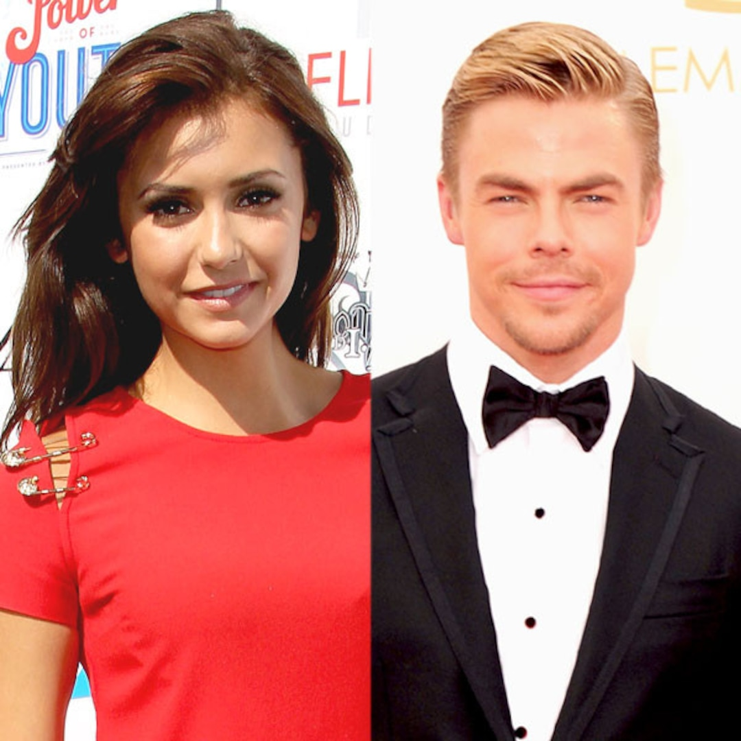 Nina Dobrev Dating Derek Hough E Online