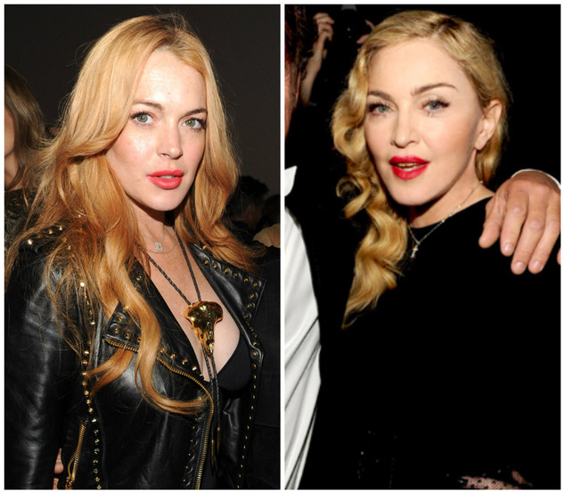 Lindsay Lohan, Madonna