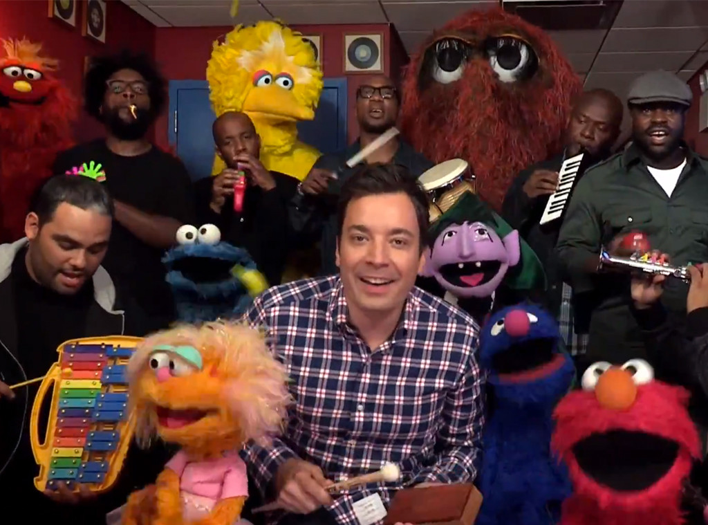 Tonight Show with Jimmy Fallon, Roots, Sesame Street