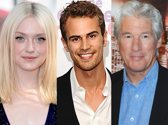 Dakota Fanning, Theo James, Richard Gere