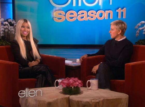 Nicki Minaj, Ellen