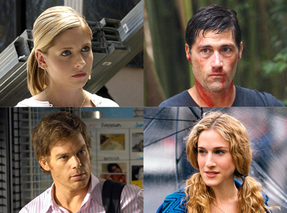 Matthew Fox, Sarah Jessica Parker, Michael C. Hall, Sarah Michelle Gellar