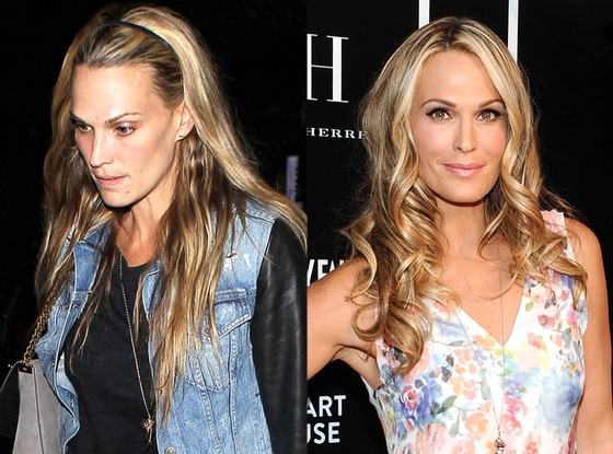 Molly Sims, Make Up Split