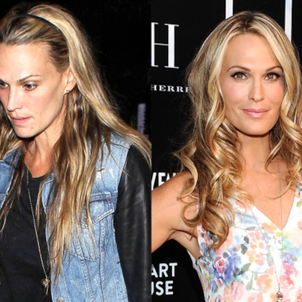 Molly Sims From Stars Without Makeup