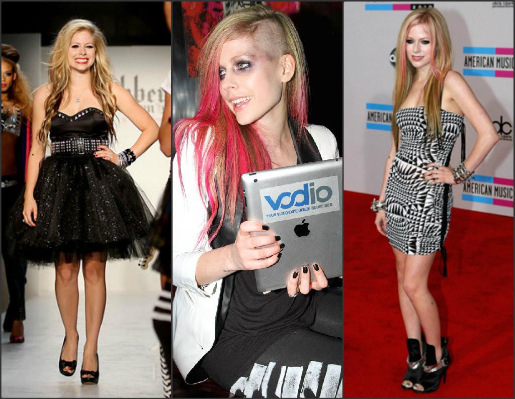 Avril Lavigne style