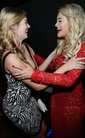 Rita Ora, Kate Upton, Hakkasan Las Vegas
