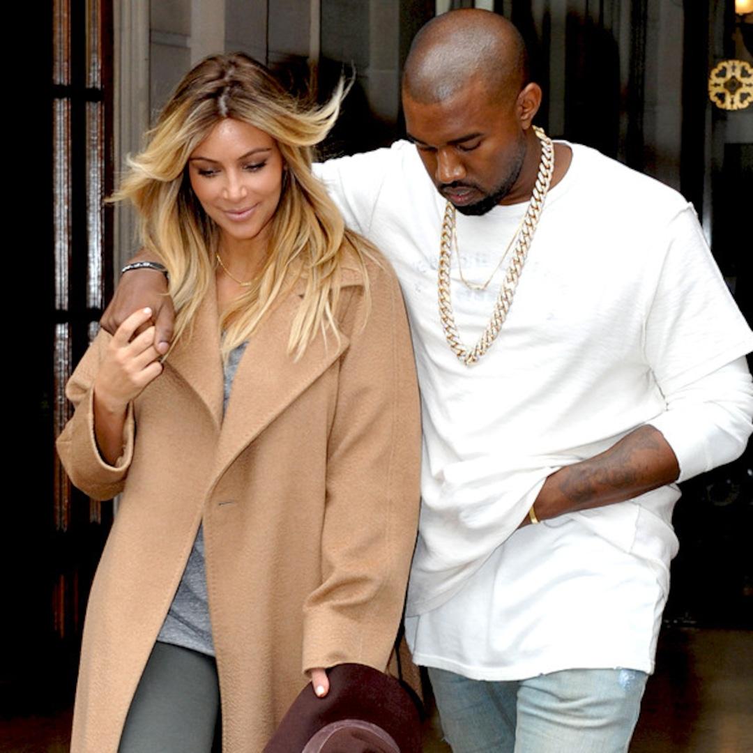 Bonjour! Kim and Kanye Enjoy Paris - E! Online