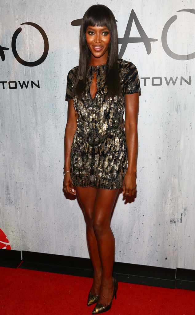 Naomi Campbell, TAO Downtown Grand Opening