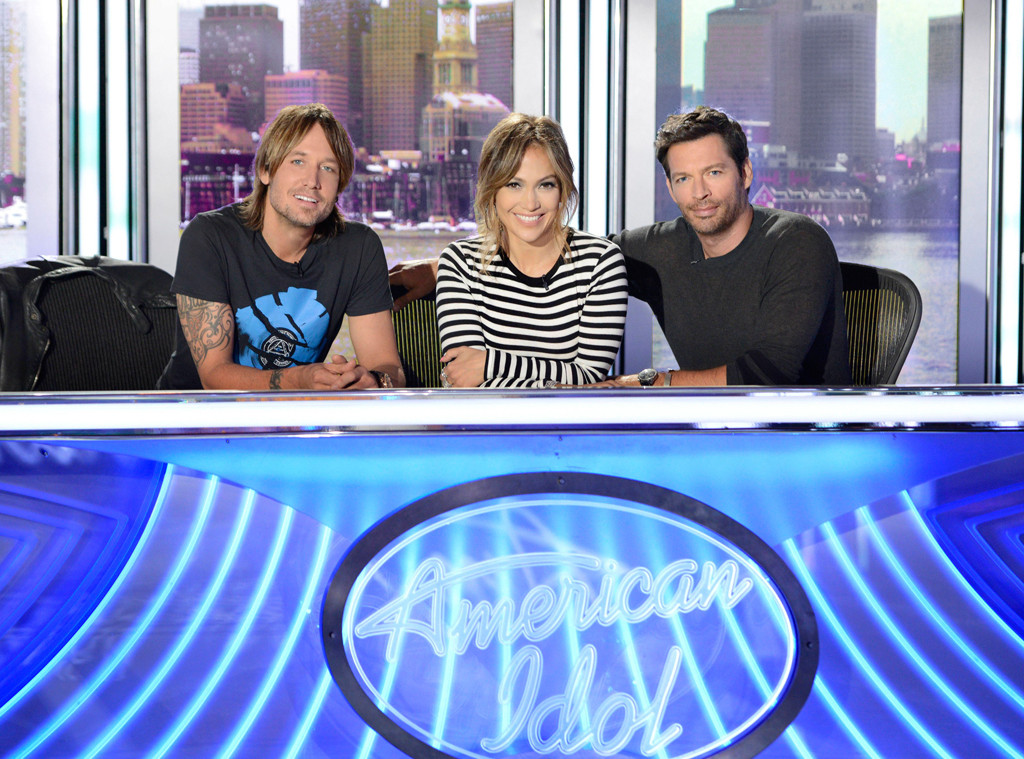 Keith Urban,Jennifer Lopez and Harry Connick Jr., American Idol Judges