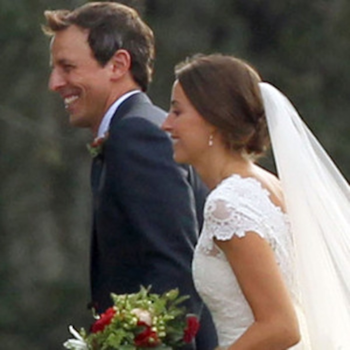 Seth Meyers Marries Alexi Ashesee Their Wedding Pic E News