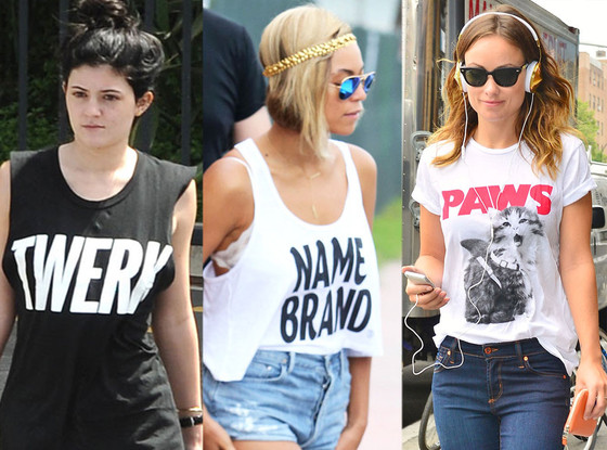 Kylie Jenner, Beyonce, Olivia Wilde, T-Shirts