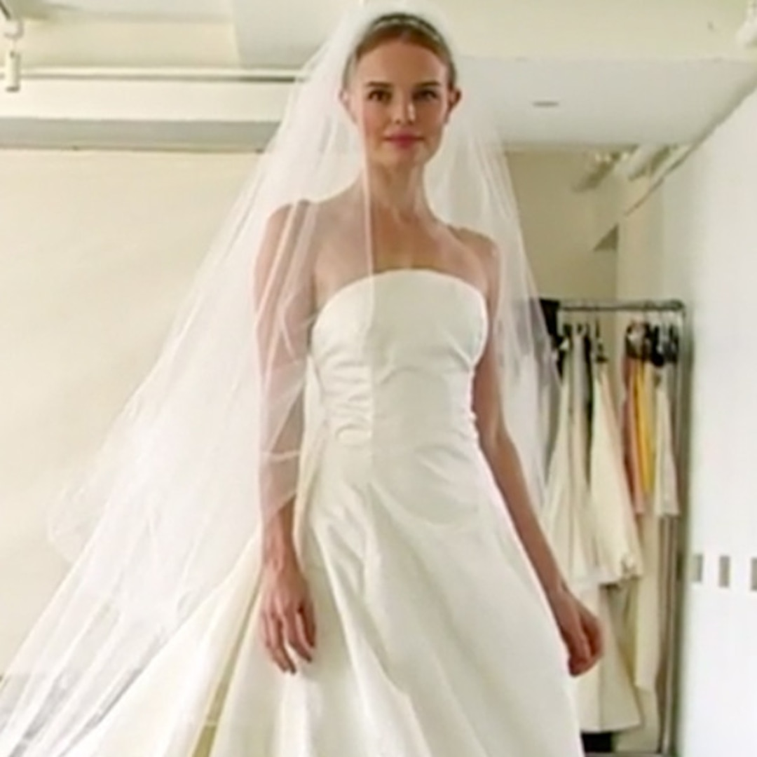 Kate Bosworth's Wedding Dress—Watch Her Try On Her Gown ...